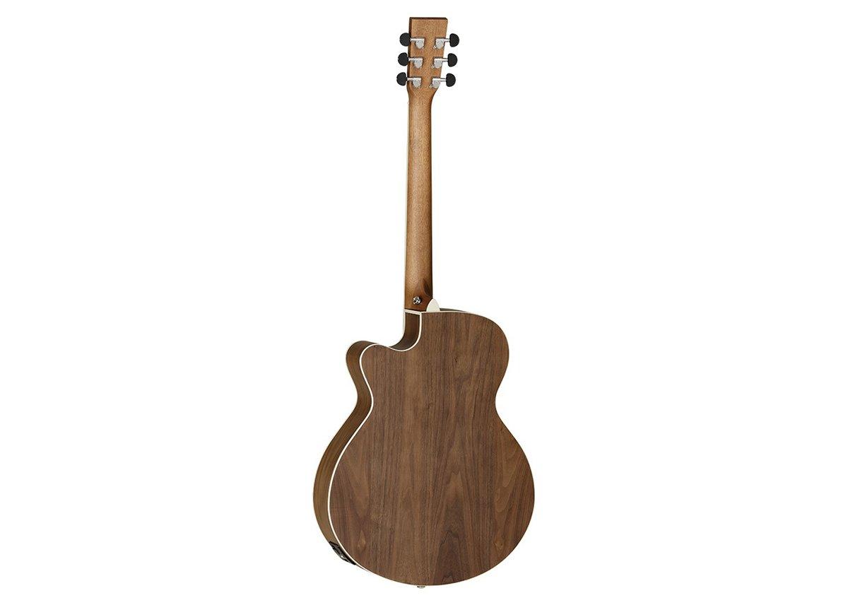 Tanglewood - DBT sfce BW - Guitarra electroacústica: Amazon.es: Instrumentos musicales