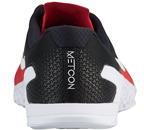 Metcon White Basses 4 Sneakers Multicolore University Nike Homme 001 Red Black gd1qpg6wT