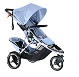 Phil and Teds Dash Buggy With Doubles Kit (Blue Marl)