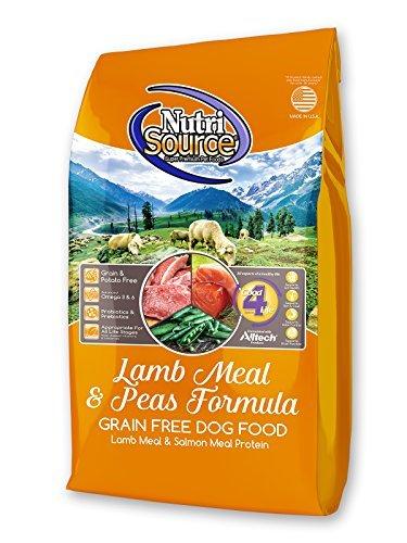 Tuffy's Pet Food NutriSource Grain Free Dog Food, 30 Pound, Lamb