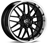 mustang 2015 rims and tires - 18x8 Enkei Lusso (Black) Wheels/Rims 5x114.3 (469-880-6540BK)