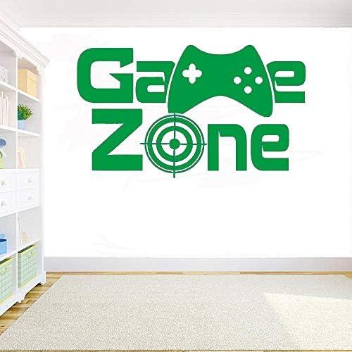 yaoxingfu Gamer Vinyl Wall Sticker Game Zone Eat Sleep Game ...