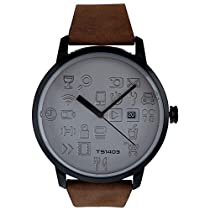 TACS Daily Icon Analog Grey Dial Unisex Watch  TS1403B