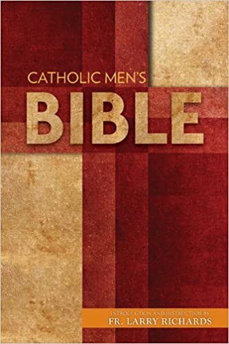 The Catholic Mens Bible Nabre Introduction And Instruction By Fr