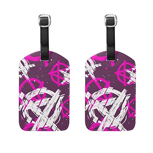 2 Pack Luggage Tags Anchors Travel Tags For Travel Bag Suitcase Accessories
