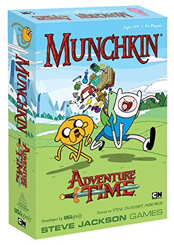 USAopoly Munchkin Adventure Time Game