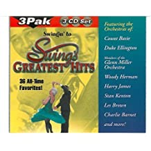 Swing's Greatest Hits: 36 All-Time Favorites by Various Artists