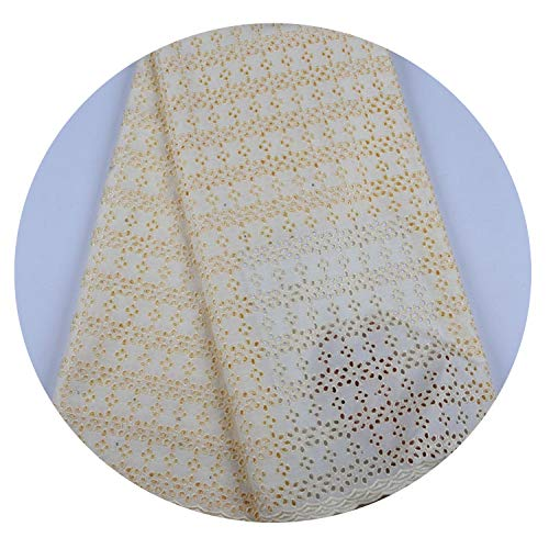 White African Lace Fabric Handmade Beaded Appliques Nigerian Wedding Lace Fabric for 5Yards/Lot,As Picture 7