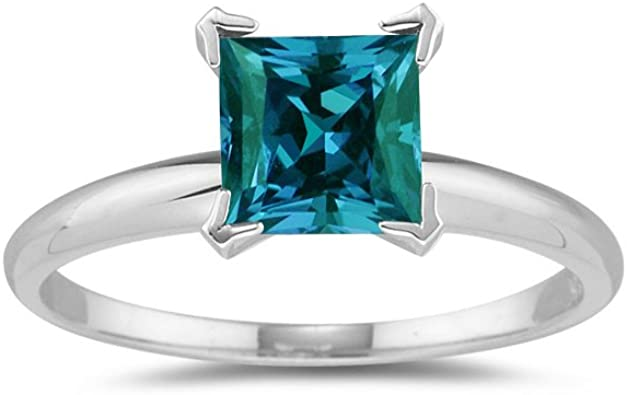Solitaire Style  2.75 cts Alexandrite Ring Sterling Silver Sizes 5 to 9