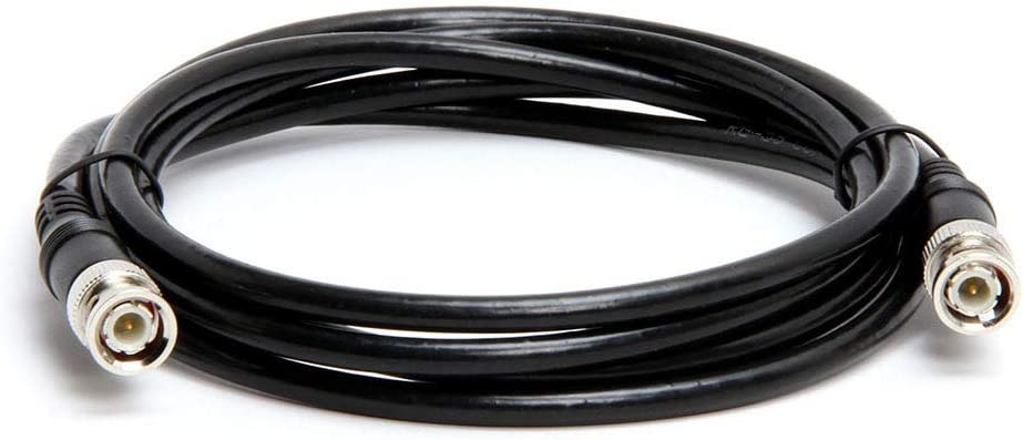 Coaxial BNC to BNC Video Cable 75 Ohm 75FT Black Cmple RG59U 75 Feet BNC Male to BNC Male