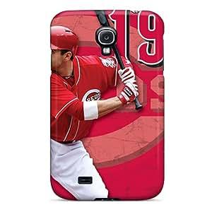 New Cincinnati Reds Tpu Case Cover, Anti-scratch LittleBox Phone Case For Galaxy S4