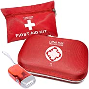 First Aid Kit: For Car Business Travel Home Office Camping Hiking Boat Mini All Purpose First-Aid Supplies Veh