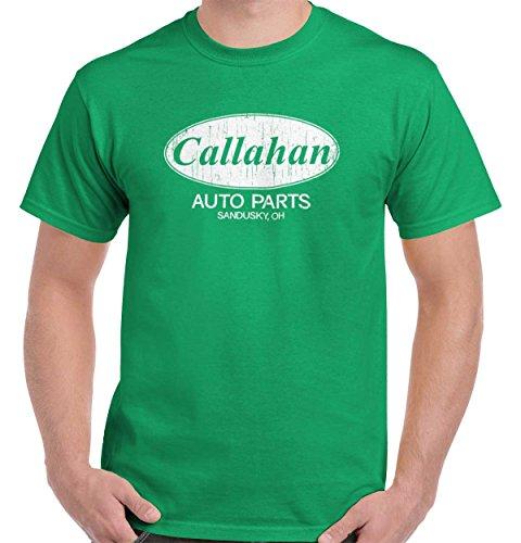 Brisco Brands Callahan Auto Tommy Boy Funny Movie T-Shirt - Shirt Chris T Farley