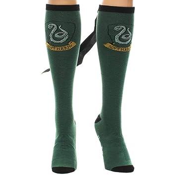 Harry Potter calcetines unisex con capa Slytherin Crew: Amazon.es: Juguetes y juegos