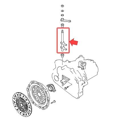 4143139000 eje horquilla de liberación del embrague para Hyundai Tiburon 2.7L & Sonata EF: Amazon.es: Coche y moto