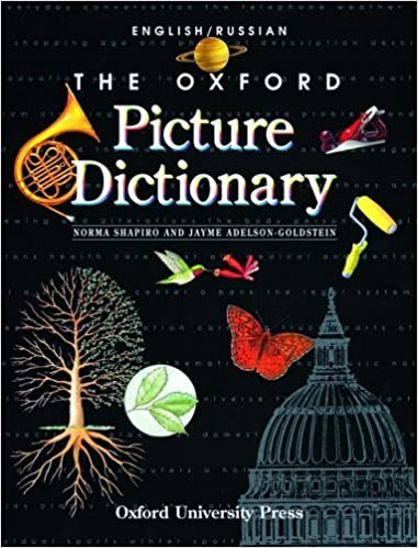 Download gratis google bøger mac The Oxford Picture Dictionary: English-Russian Edition (The Oxford Picture Dictionary Program) by Shapiro, Norma, Adelson-Goldstein, Jayme(October 1, 1998) Paperback ePub B014T9PCA0