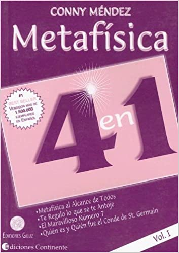 Metafisica 4 En 1 Volume 1 Spanish Edition 9789507540981 Mendez Conny Books