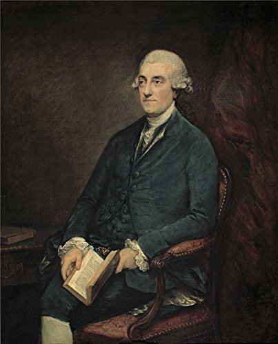 Polyster Canvas ,the Amazing Art Decorative Prints On Canvas Of Oil Painting 'Gainsborough Thomas Isaac Henrique Sequeira Ca. 1775 ', 10 X 12 Inch / 25 X 32 Cm Is Best For Nursery Decor And Home Gallery Art And (Hamilton 12