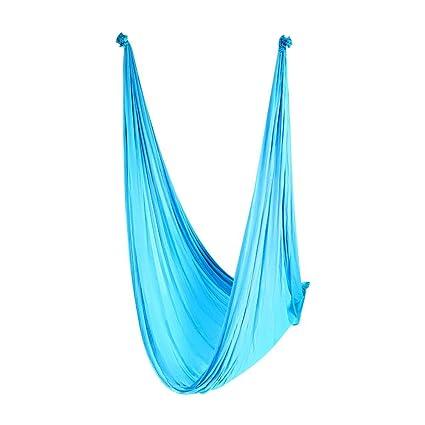 Amazon.com : Alomejor Yoga Hammock 500280cm Durable Nylon ...