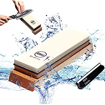 Sharpeners King Japanese Sharpening Stone Whetstone Combination Grit 1000/6000 Kds Quality First Kitchen, Dining & Bar