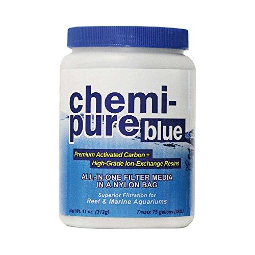 - Boyd Enterprises Chemi-Pure Filtration Media for Aquarium, 11-Ounce, Blue