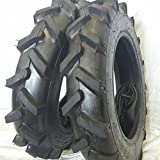 (2 TIRES + 2 TUBES) 6.00-16 8 PLY ROAD WARRIOR R1 Farm Tractor Tire 600168
