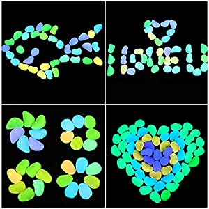 COCOScent Pebbles, Outdoor Decorative Stones, for Aquariums, Landscaping, Vase Fillers, Succulent, Tillandsia, Cactus Pot, Terrarium Plants 35