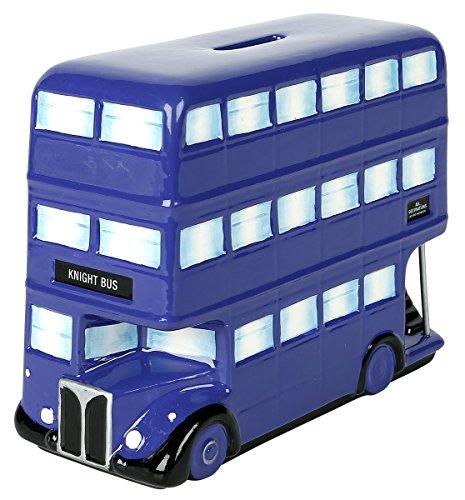Harry Potter Money Bank Knight Bus Half Moon Salvadanai