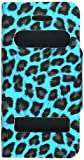 5c iphone light blue wallet case - Cell Armor Hybrid Novelty Case for Apple iPhone 5C - Retail Packaging - Light Blue Leopard Wallet Case