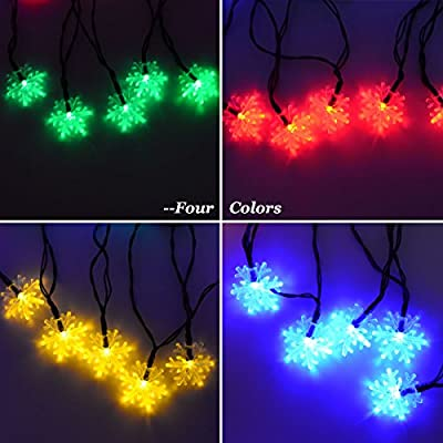 Solar Indoor & Outdoor Decoration String Light Waterproof LED Lights Solar Powered Lights for Garden Patio Home Christmas Tree Parties- Mutiple