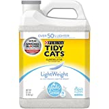 Purina Tidy Cats LightWeight Glade Tough Odor Solutions Clear Springs Clumping Cat Litter - (2) 8.5 lb. Jugs