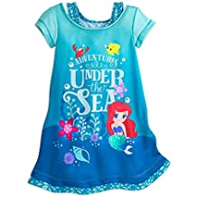 Disney Ariel Nightshirt for Girls Blue