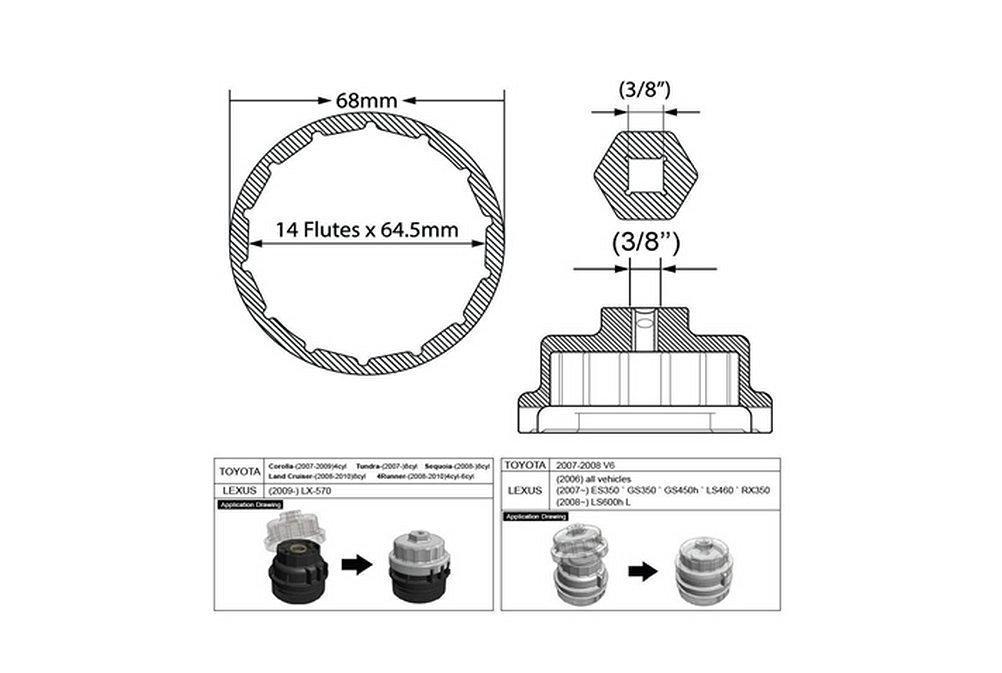 Amazon Danti Oil Filter Wrench For Toyota Lexus Vehicles With. Amazon Danti Oil Filter Wrench For Toyota Lexus Vehicles With 6 Or 8 Cylinders Gs300is250es350gs350gs450hls460rx350ls600h Automotive. Lexus. 2000 Lexus Gs300 Oil Filter Diagram At Scoala.co