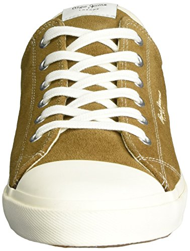 Pepe Jeans Men's Tokio Suede Trainers Brown (Tobacco) cheap sale with paypal cheap buy authentic aOv35aOJs