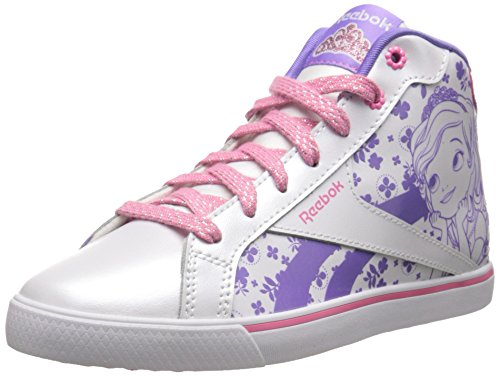 Reebok Sofia Court Mid Classic Shoe (Infant/Toddler/Littl...