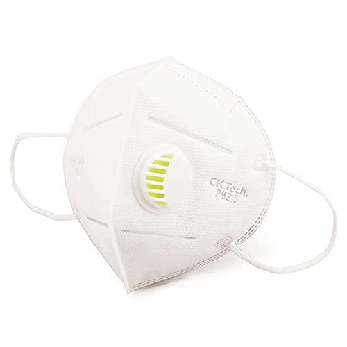 Airby® 3D Fold Face Mask Disposable Dust, Mist, Fume Respirator, N95 Standard (5 Pack)