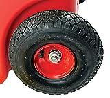 Gas & Go GG-25PFC-A Red 25 Gallon 25-Gallon Rolling Gas Caddy
