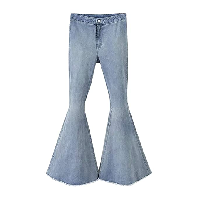 Popoye Pantalones Vaqueros para Mujer Casual Pantalones ...