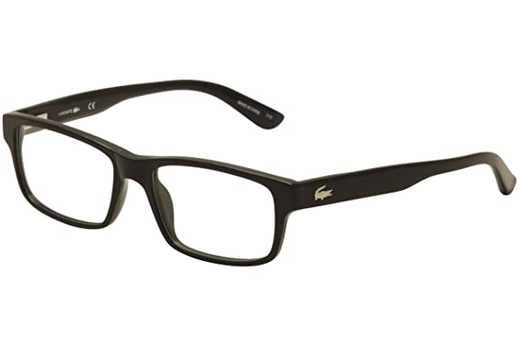 fb8ca100abc Amazon.com  Eyeglasses LACOSTE L 2705 001 BLACK  Clothing