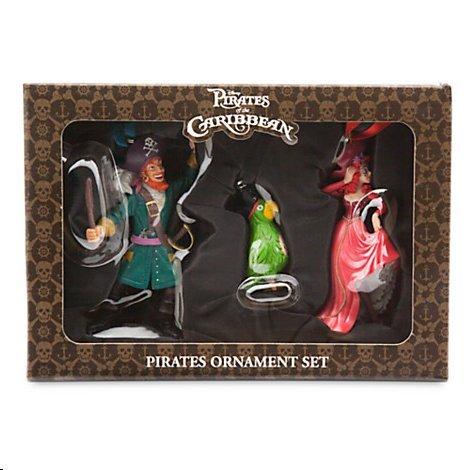 Disneyland/Disney World Pirates of the Caribbean Ornament Boxed Set