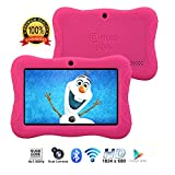 "[Upgraded] Contixo K3 HD 7"" Kids Tablet with Durable Protection Case, Pre-Installed Games"