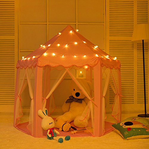 AniiKiss Portable Princess Castle Play Tent,Kids Funny In...