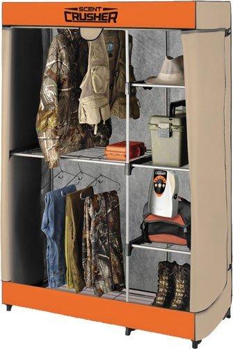 Ozone Go Flexible Hunters Closet w/Ozone Unit by Scentcrusher