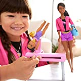 Barbie Ice-Skating Coach Dolls & Playset with