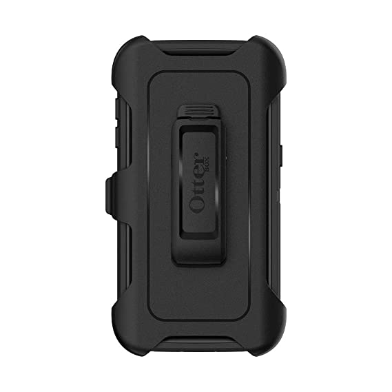 brand new ab47c 5fd37 OtterBox Defender Series Holster ONLY for Galaxy S7 Edge (NOT S7) (Renewed)  - Black