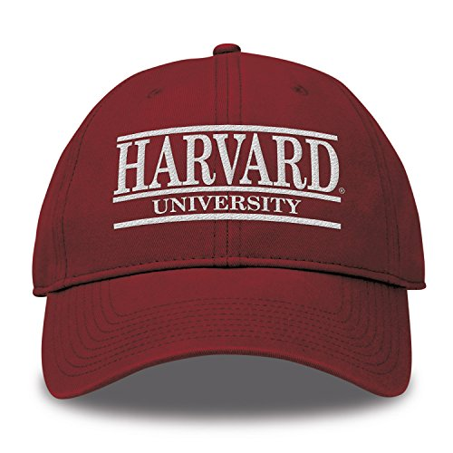 - The Game NCAA Harvard Crimson Bar Design Twill Hat, Cardinal, Adjustable