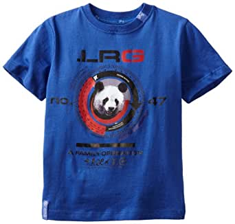 LRG - Kids Little Boys' Panda Operation Tee, Blue, 6