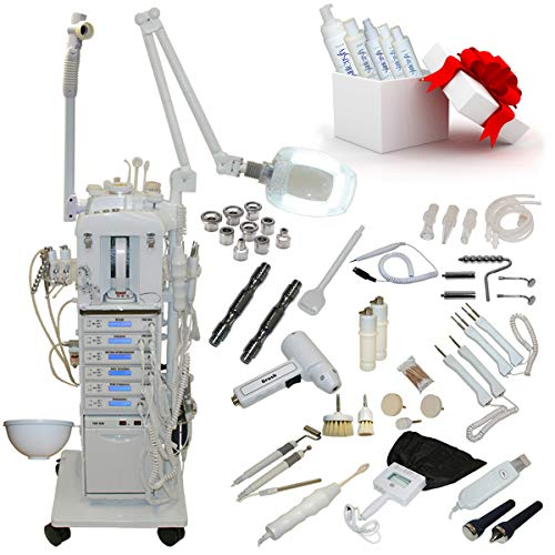 17 in 1 Multifunction Diamond Microdermabrasion Beauty Facial Machine Spa Equipment