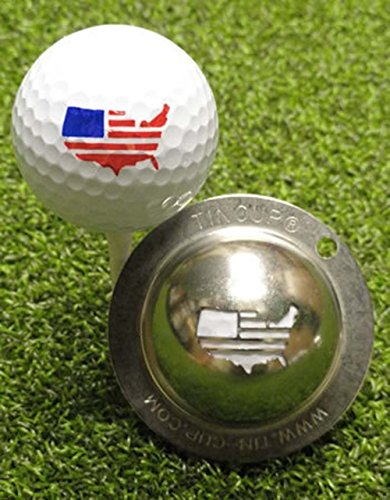 America Golf Balls (Tin Cup America Golf Ball Marker)