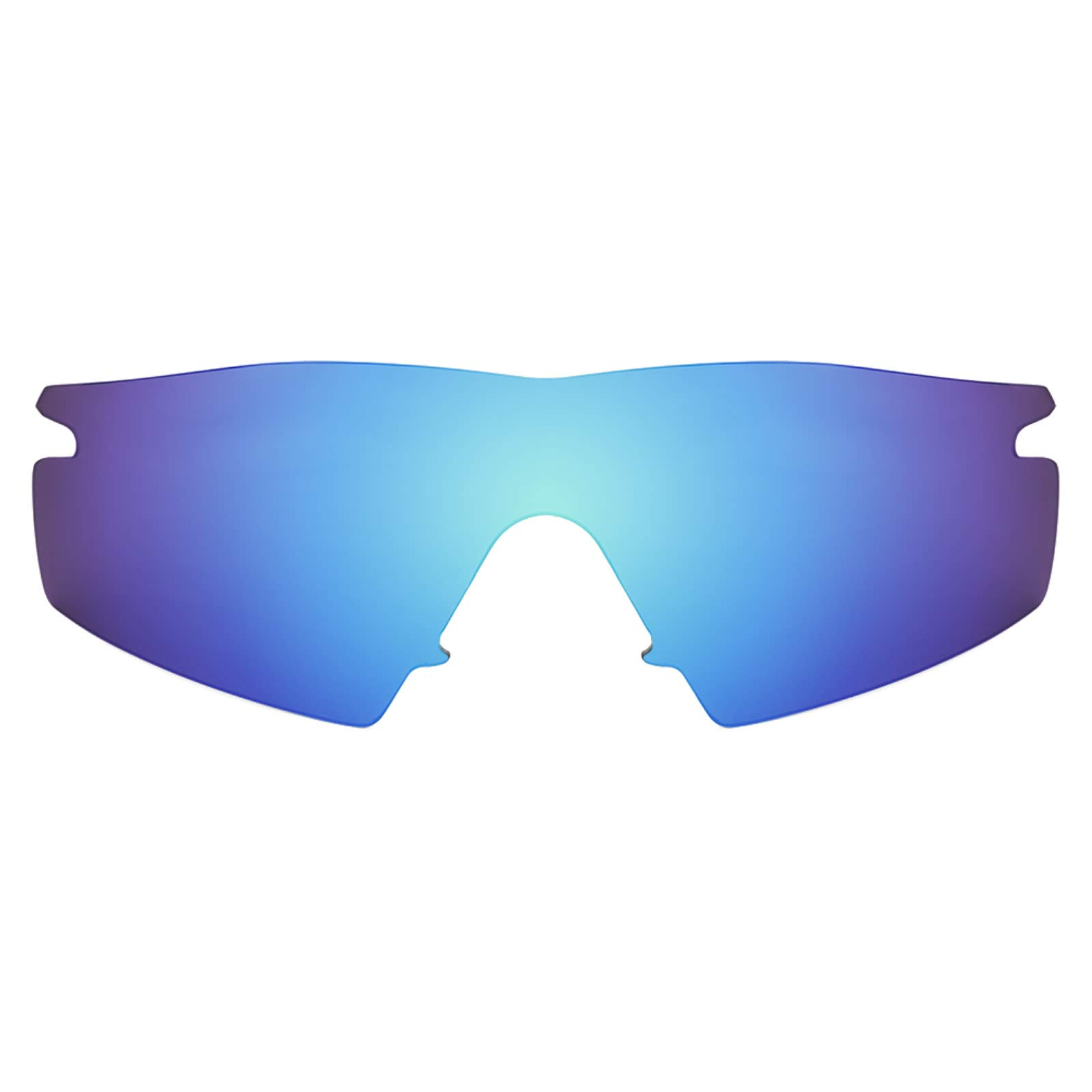 Revant Polarized Replacement Lenses for Oakley M Frame Strike Elite Ice Blue MirrorShield by Revant